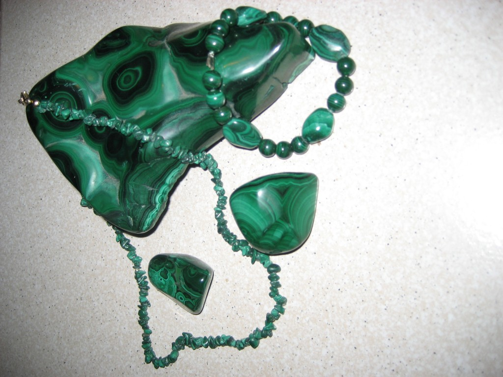 Malachite divers